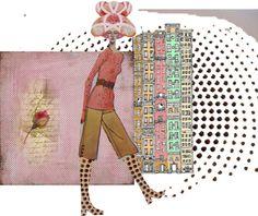 """vintage pattern dollymix"" by vervetandhowler on Polyvore"