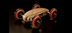 handcrafted toys - Made out of wood, these handcrafted toys each represent a different natural element: air, earth and water. WOO toys are designed for children and a. Wooden Toy Cars, Wood Toys, Making Wooden Toys, Pinewood Derby Cars, Unique Toys, Woodworking Toys, Car Gadgets, Wooden Crafts, Diy Toys