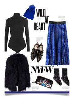 """Pack for NYFW'"" by dianefantasy ❤ liked on Polyvore featuring Opening Ceremony, Wolford, Gucci, Yves Saint Laurent, Topshop, NYFW, polyvorecommunity and polyvoreeditorial"