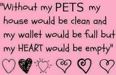 pets..except my house would still be messy and my wallet empty! Haha