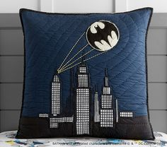 Batman Cityscape Quilted Bedding Pbkids