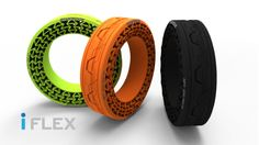 Hankook iFlex tire without Air Pressure Succeeds High-speed Driving Innovation, Speed Test, Free Cars, Flat Tire, Futuristic Cars, Futuristic Vehicles, High Speed, Cars And Motorcycles, Product Design