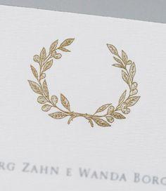 Diário de Noiva: convite de casamento