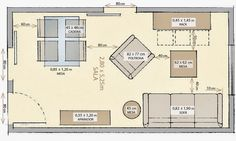 Minimum Footage for Living room, Bedroom, Kitchen and Bathroom - Architecture Admirers Architecture Plan, Architecture Details, Interior Design Tips, Interior Decorating, Studio Loft, Bathroom Plans, Small Apartments, Feng Shui, Decoration