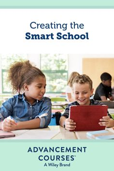 """Creating a """"smart"""" school is no easy feat, but there are small steps leaders can take to make it happen. Discover apps to try and the benefits of integrating technology throughout your school in our resource. #smartschool #educationtechnology #edtech #technology #educationapps #technologyforschools #technologyforteachers Digital Technology, Educational Technology, How To Become Smarter, Smart School, School Community, Blended Learning, Learning Styles, Student Engagement, Student Learning"""
