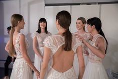 We walked the runway at NEWLIFE EXPO Here are some backstage pictures of our team and our models, taken by Olsi Mane. Backstage, Wedding Hairstyles, Runway, Bridal, Wedding Dresses, Hair Styles, Model, Pictures, Spirit