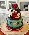 Sheriff Callie themed birthday cake #peridotsweets