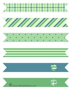 St Patrick's Day Party Printables.