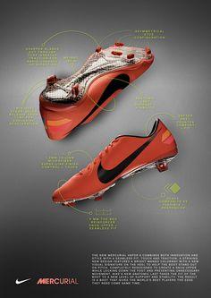 Nike Mercurial Vapor 8 (Mango) football soccer shoe