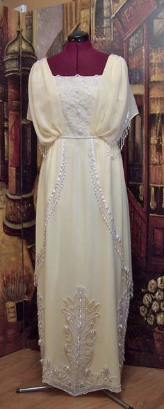 Edwardian/Titanic Gown -. $1,299.99, via Etsy.