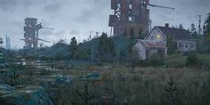 SIMON STÅLENHAG — Waste Products At The Edge Of Rostriket From...