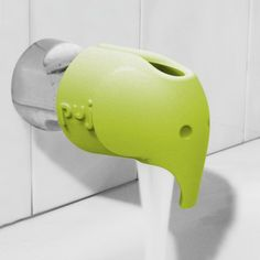 Keep bath time safe with this soft spout cover