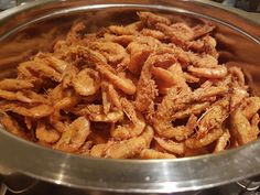 Merryn's Menu: Fried School Prawns in a Curry Coating