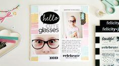 Hello Traveler's Notebook Spread | Sheree Forcier - Felicity Jane