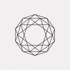 "112 Likes, 3 Comments - DAILY MINIMAL (@daily_minimal) on Instagram: ""DE15-424 A new geometric design every day  #dailyminimal #minimal #art #geometry"""