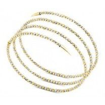 Officina Bernardi Molla Bracelet Gold and White Small