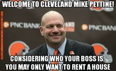 Mike Pettine was offered the Cleveland Browns head coaching job... and he said yes!!!!!!