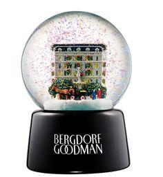 Bergdorf Goodman Snow Globe
