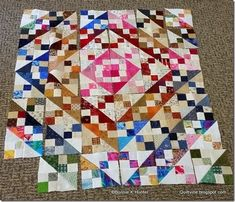 Quiltville's Quips & Snips!!: Blue Ridging to Beat the Band!