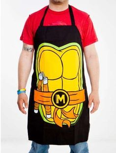 The Teenage Mutant Ninja Turtles Apron is Perfect for Pizza trendhunter.com