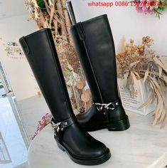 Givenchy Designer, Designer Shoes, Riding Boots, Fashion, Horse Riding Boots, Moda, Fashion Styles, Fashion Illustrations