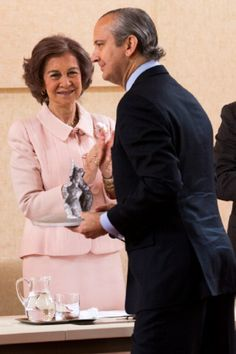 20 May: Queen Sofia of Spain attends 2014 Mapfre Foundation Awards in Madrid, Spain
