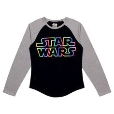 Girls' Star Wars LS Tee Shirt - Black