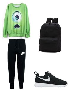 to London by petra-fia on Polyvore featuring NIKE and Vans