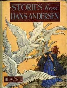 Stories from Hans Andersen, 1950  I've always known him as Hans Christian Andersen. I was raised on these stories :)