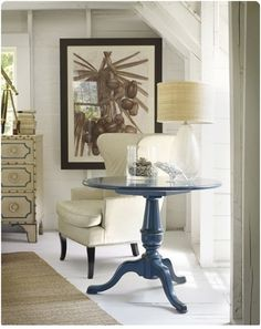 love the painted table!