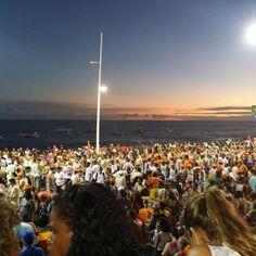 Que fim de tarde é este minha gente??!! Por do sol na Barra Foto: @lighttblack  #bahia #brazil #carnaval #blogger #balaionaestrada #BalaiodeEstiloS