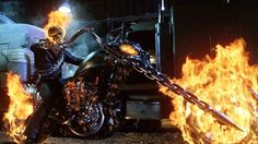 Ghost Rider: Spirit Of Vengeance Director's Blunt Thoughts About The MCU Movies . The Marvel Cinematic Universe is an ever expanding place. And while Marvel Studios has some great TV content out right now, Ghost Rider 2007, Ghost Rider Film, Ghost Rider Marvel, Nicolas Cage Ghost Rider, Ghost Rider Motorcycle, Ghost Rider Wallpaper, Badass Movie, Spirit Of Vengeance, Harley Davidson Panhead