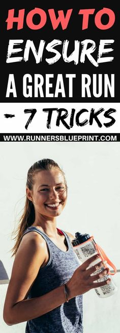 today I decided to share with you some quick and practical tips to help ensure a good run—regardless of your current fitness level and training goals. The rules I'm sharing with you here are (almost) universal, so regardless of your current fitness level and training goals, the practical guidelines below should prove super useful.http://www.runnersblueprint.com/tips-to-help-ensure-a-great-run/ #Running #beginner #Tips