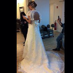 Nossa noiva linda Aila! Wedding Dress Atelier Carla Gaspar.