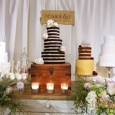 Even when they're chocolate.   All The Boho Wedding Inspiration You Could Possibly Need