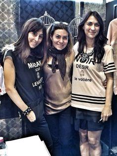Le dolcissime sorelle del brand Le Volière!!! Splendide loro e tutta la nuova linea!!!