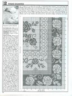 Kira scheme crochet: Scheme crochet no. 1405