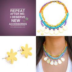 Compra tus accesorios desde la comodidad de tu casa u oficina en www.dulceencanto.com