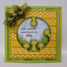 Well I thought today was going to be dull, but dry....its raining at mo, lets hope it changes later !! So here's a card to make you s...