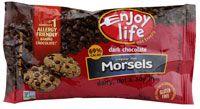 Enjoy Life Morsels Regular Sized Dark Chocolate