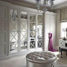 Mirrored Wardrobe Doors, Closet Mirror, Bedroom Closet Doors, Bedroom Wardrobe, Wardrobe Closet, Master Closet, French Closet Doors, French Doors Bedroom, Sliding Closet Doors