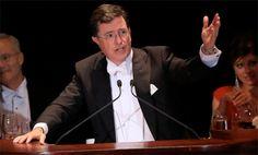 Listen To Stephen Colbert's Hilarious Catholic-Themed Al Smith Keynote