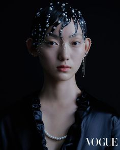 """Glitter Ball"", photographed by Leungmo and styled by Alva Chung for Vogue Hong Kong October 2019 Pelo Editorial, Vogue Editorial, Beauty Editorial, Editorial Fashion, Aesthetic Hair, Aesthetic People, Beauty Photography, Fashion Photography, Editorial Photography"