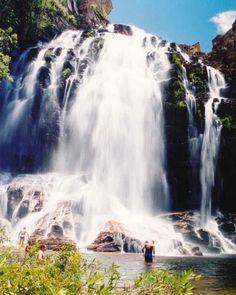 Cachoeira Serra Morena, na Serra do Cipó, MG.