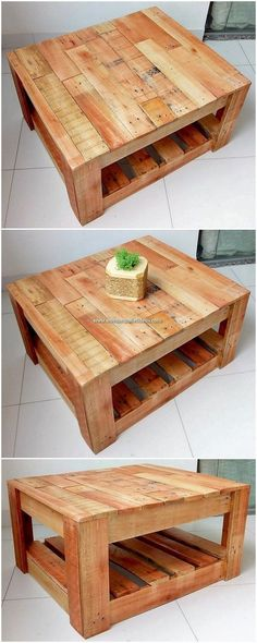 colored pallet table project ideascolored pallet table project ideasdiy palette kitchen table ideas 20 - craft and living ideasAwesome Diy Pallet Kitchen Table Ideas 28 Pallet Dining Table and Bench Set Pallet Furniture Diy Home Wood Pallet Tables, Pallet Dining Table, Diy Pallet Sofa, Diy Pallet Projects, Wooden Pallets, Wooden Diy, Pallet Ideas, Wood Projects, Diy With Pallets
