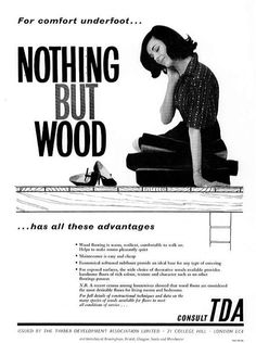 Nothing But Wood | 1953 #ThrowbackThursday