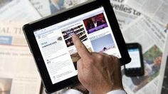 Digital news 'catches up with papers'