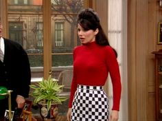 Honestly, she always made a turtleneck and a mini skirt look like the best and coolest combination ever. 24 Times Fran Fine Was The Style Icon We All Know She Is 1990 Style, Style Année 90, Mode Style, Retro Style, Fashion Mode, 80s Fashion, Fashion Beauty, Fashion Outfits, 90s Style Outfits