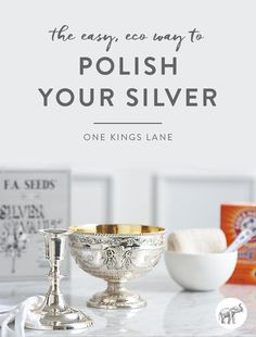 We've all been there: You're hosting a holiday feast and go to break out your best silver a few hours before your guests are due to arrive, only to realize your beauties are terribly tarnished. Resist the temptation to throw your silver in the dishwasher (big no-no, by the way). Instead, try this simple, all-natural, at-home method for bringing the shine back to your silver.