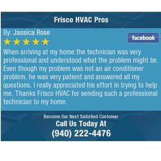 When arriving at my home the technician was very professional and understood what the...